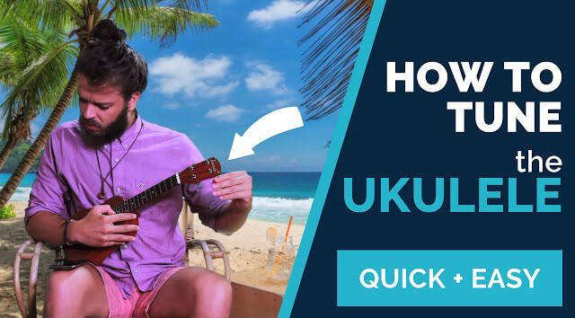 how to tune the ukulele