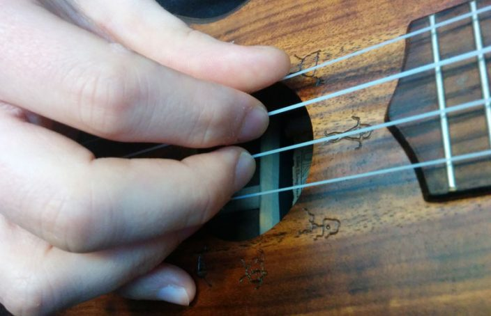 fingerpicking position