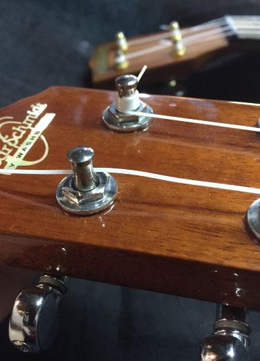 restringing uke
