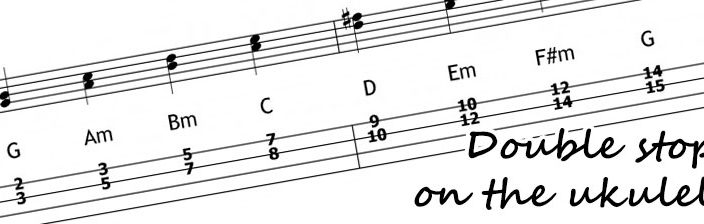 double stops ukulele